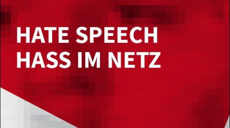 Cover: Hate Speech - Hass im Netz